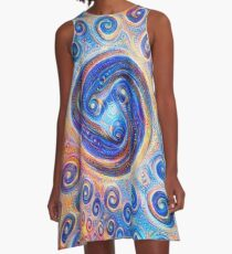 #Deepdreamed Abstraction A-Line Dress