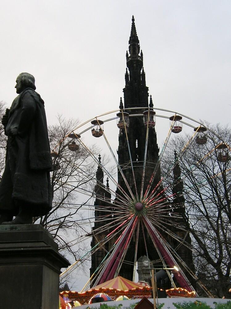 Princess street Edinburgh Scotland by mikequigley