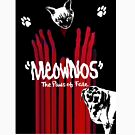 """Meownos"" The Paws of Fate Tee by Margaret Bryant"