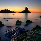Rocks at sunrise  by Andrea Rapisarda