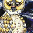 Old Man Owl by kewzoo