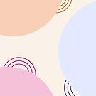 Ruhige Geometrie #illustration #geometrische # Kunst von Creativeaxle