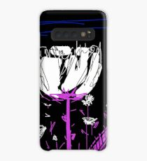 White flower Case/Skin for Samsung Galaxy