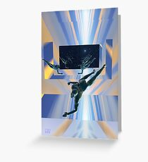 Parallel Infinities Greeting Card