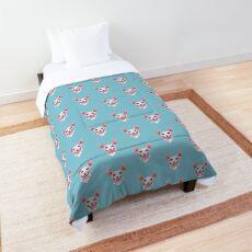 Sphynx cat portrait Comforter