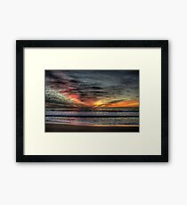 Morning Glory - Warriewood Beach, Sydney - The HDR Experience Framed Print