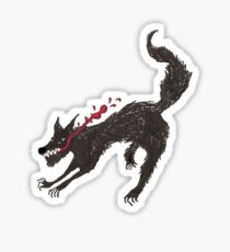 Big Bad Wolfie Sticker