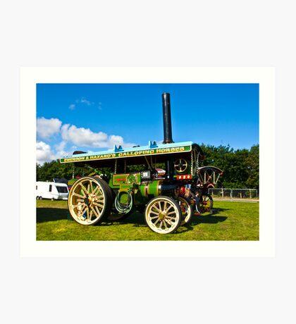 Burrell Showmans Road Locomotive Art Print