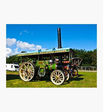 Burrell Showmans Road Locomotive Photographic Print