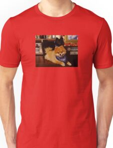 Pomeranian Cowboys Unisex T-Shirt