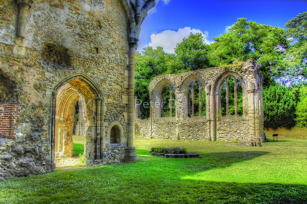 Ruins of Netley Abbey by Peter D