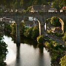 river sunset II by David Milnes