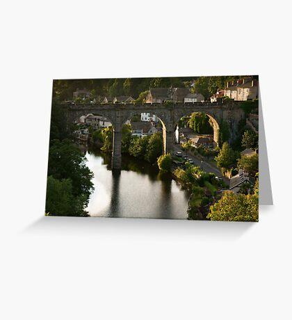 river sunset II Greeting Card
