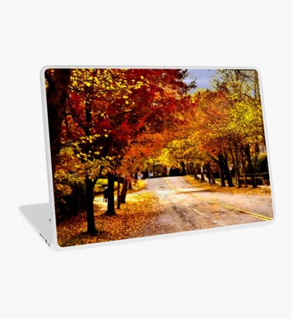 Yellow Leaves Laptop Skin