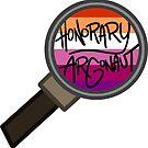 Honorary ARGonaut Sticker (Lesbian) by ARGonauts Podcast