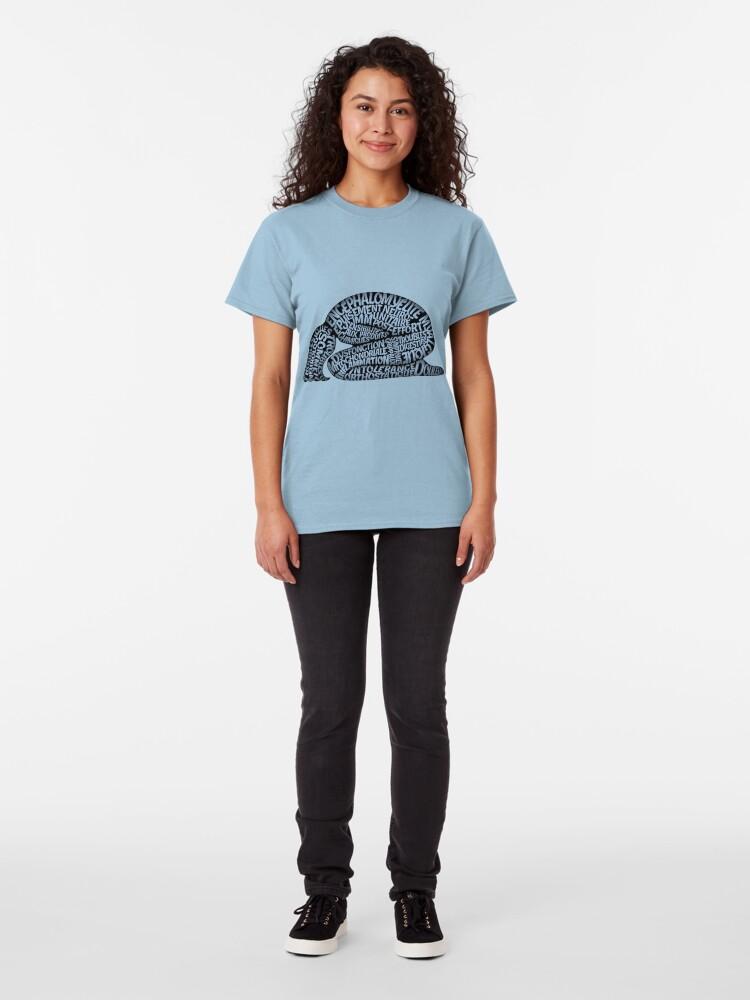 Alternate view of Les ravages de l'EM by Jill Thompson Classic T-Shirt