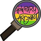 Honorary ARGonaut Sticker (Lesbian Alternate) by ARGonauts Podcast