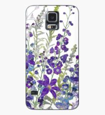 Cluster of Purples Case/Skin for Samsung Galaxy