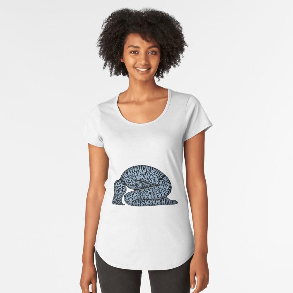 Les ravages de l'EM by Jill Thompson Premium Scoop T-Shirt