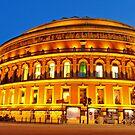 London Royal Albert Hall in  blue hour by DavidGutierrez