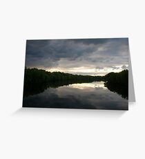 Penobscot River, Maine Greeting Card