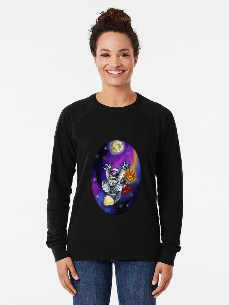 Alternate view of Rocket Man Lightweight Sweatshirt