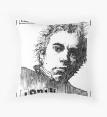 Jonnie Rotten Throw Pillow