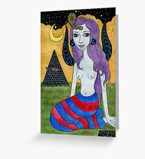 Britta Sphinx Greeting Card