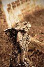 A little Angel, Bolventor Churchyard, Cornwall, UK by David Carton