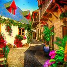 Colorful Alley von Jasmina Seidl
