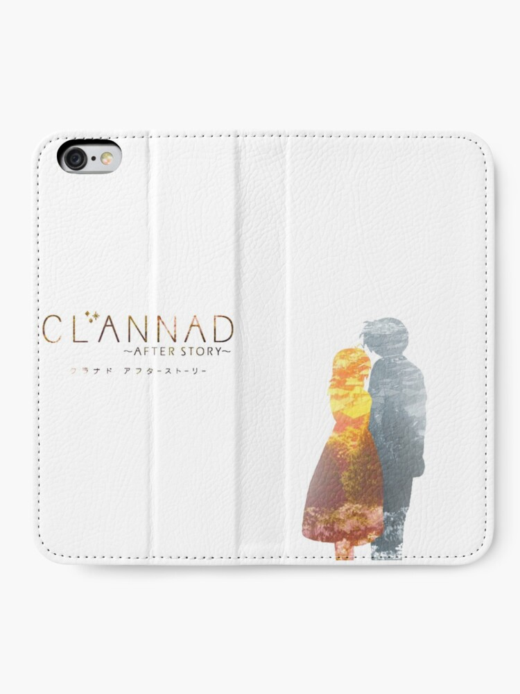 Clannad Nigasa and Tomoya iphone case