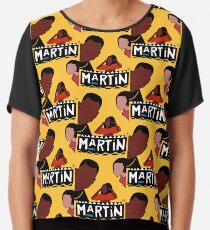 Martin (Gelb) Chiffontop