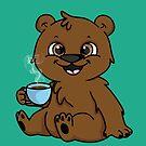 Coffee Bear  by Ara mink