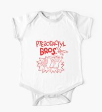 Pterodactyl Bros Baby Body Kurzarm