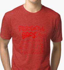 Pterodactyl Bros Tri-blend T-Shirt