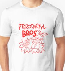 Pterodactyl Bros Slim Fit T-Shirt