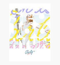Girls' Generation (SNSD) Seohyun 'Party' Photographic Print