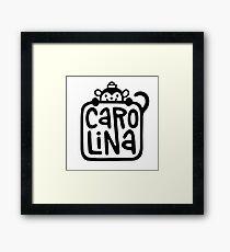 Carolina Logo Framed Print