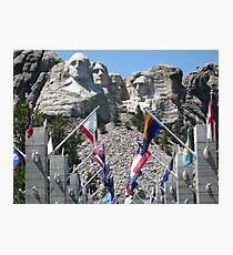 Mount Rushmore Photographic Print
