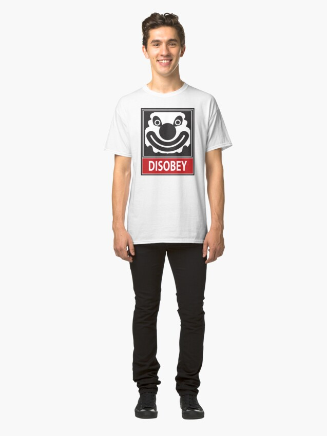Alternate view of DISOBEY by Roley Classic T-Shirt