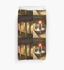 New York City Subway Duvet Cover