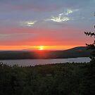 'Sunset Over Long Pond' by Scott Bricker