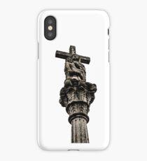 Celtic Street Cross iPhone Case/Skin