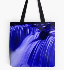 Cool Blue Water Tote Bag