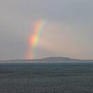 'Rainbow Over Schoodic Head' by Scott Bricker