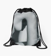 5773 Natasha Au Naturel - Boudoir Eros Studio Beauty Nude Drawstring Bag