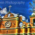 San Cristobal church by jalewin
