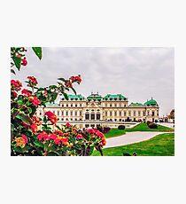 Belvedere Lámina fotográfica