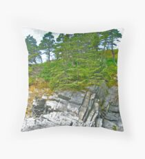 Mavillette Beach IV Throw Pillow