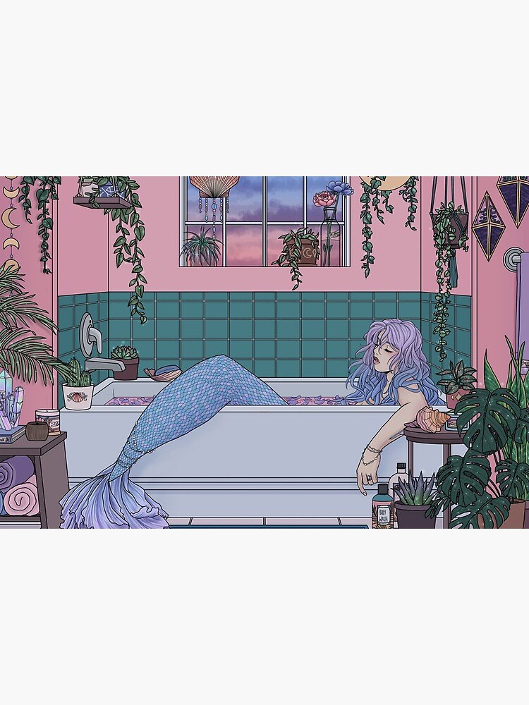Urban Mermaid by kelseydraws